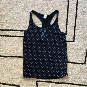 FREE W/ $25 PURCHASE CK Sleepwear Blue Anchor Tank
